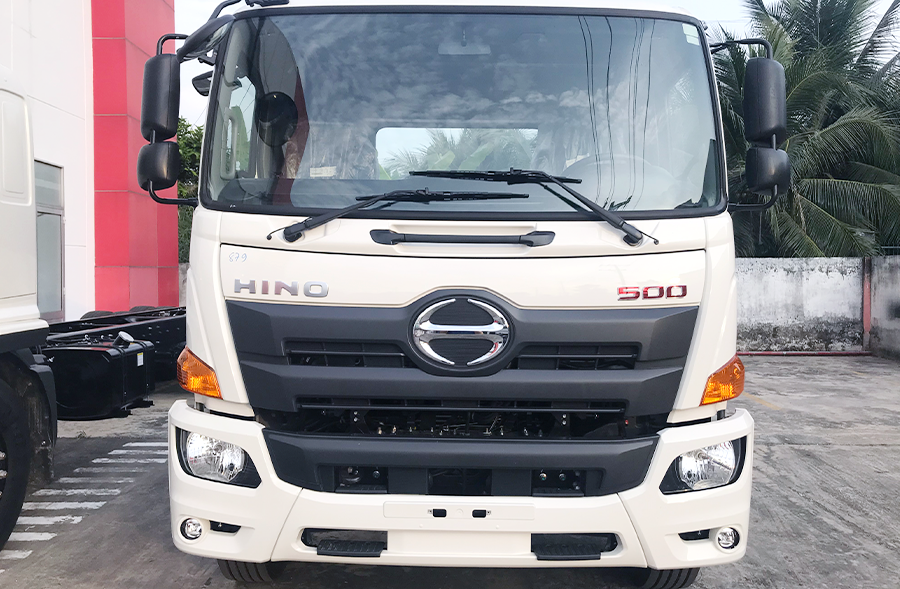 Cabin Xe tải Hino FL8JT7A Mui Bạc Nhôm