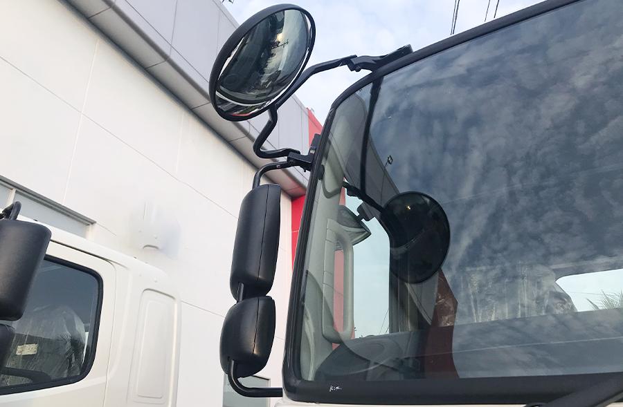 Gương chiếu hậu Xe tải Hino FL8JT7A Mui Bạc Nhôm