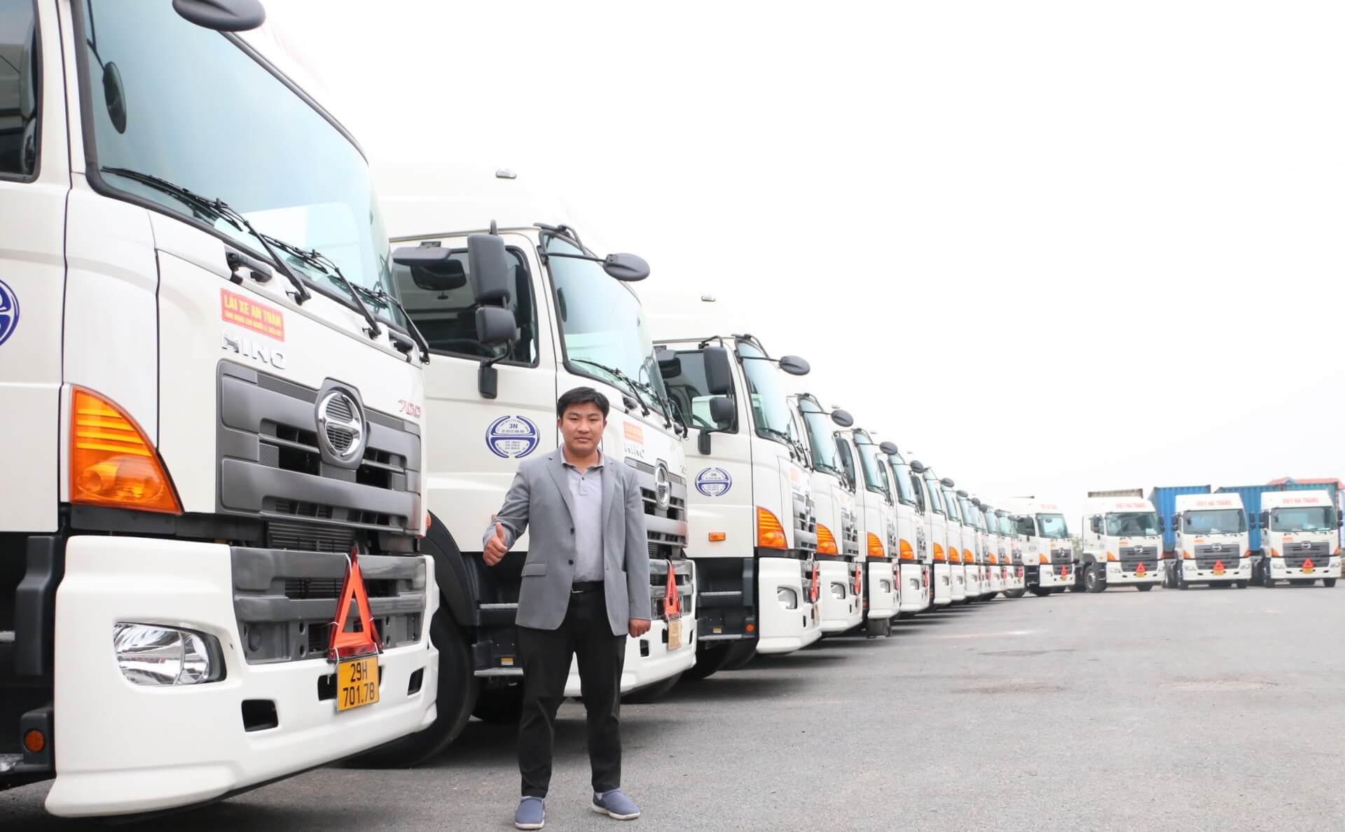 Ông Phạm Hồng Hưng – Tổng Giám đốc công ty TNHH Vận tải Việt Hà